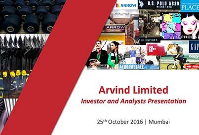 Investor Presentation | Arvind Ltd